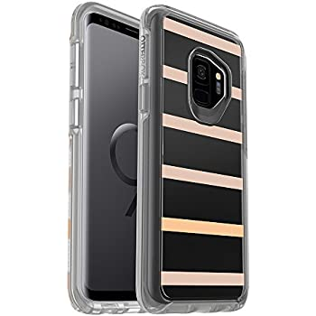 OtterBox SYMMETRY CLEAR SERIES Case for Samsung Galaxy S9 - Retail Packaging - INSIDE THE LINES (CLEAR/INSIDE THE LINES GRAPHIC)