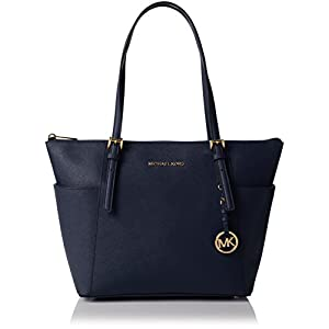Michael Kors Jet Set Item, Tote Donna, Giallo, 11.4x25.4x38.1 centimeters (W x H x L) 10
