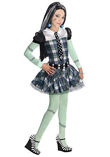 Kids-Costume Frankie Stein Lg Halloween Costume - Child Large]()