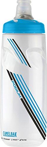 CamelBak Podium Water Bottle, 24 oz, Clear Blue by CamelBak
