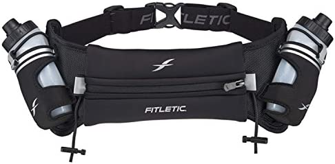 Fitletic Hydra 16 Hydration Belt Patented No Bounce Technology