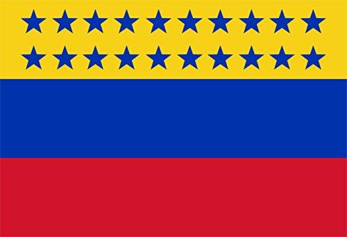 magFlags Bandera Large Decretada por Ezequiel Zamora en Junio de 1859, en Barinas   Bandera Paisaje   1.35m²   90x150cm