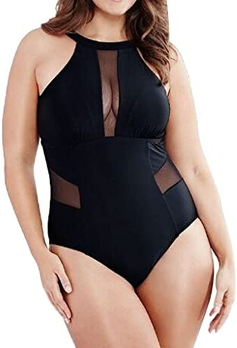 Damen-Bikini, Schwarz XXX-Large 3xl