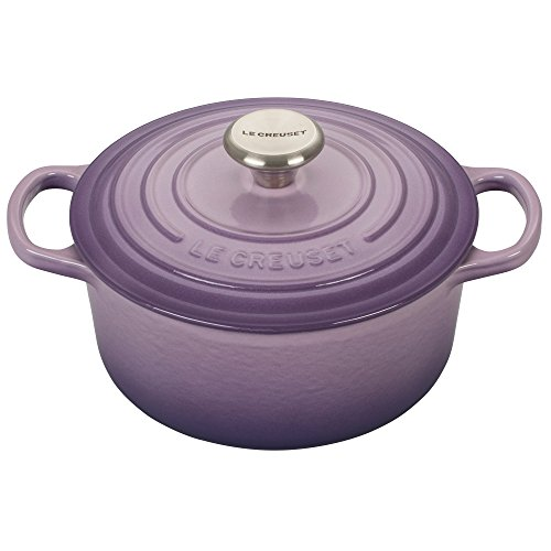 - Le Creuset Signature Provence Enameled Cast Iron 2 Quart Round French Oven