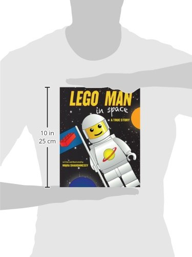 LEGO Man in Space: A True Story by Sky Pony Press (Image #3)