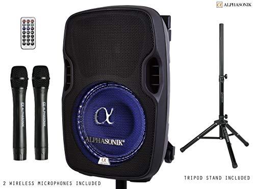 Alphasonik 8 Portable Rechargeable