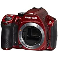 Pentax K-30 Digital Camera (Body Only) (Red)