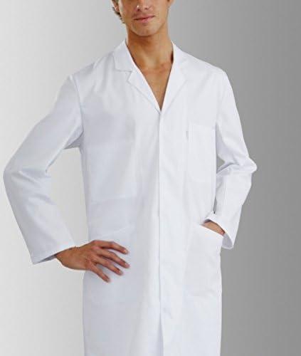 Bata química para laboratorio, 100% algodón, unisex, manga larga ...