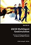 2d/3d Multiagent Geosimulation, Walid Ali, 3836472295
