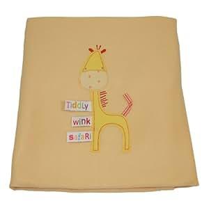 Lollipop Lane Tiddly Wink Safari - Manta para cuna, diseño jirafa
