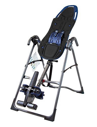 Teeter 900LX Inversion Table with Comfort Cushion Accessory, for Back Pain Relief, FDA-Registered, 3rd-Party Safety Certified, Precision Engineering
