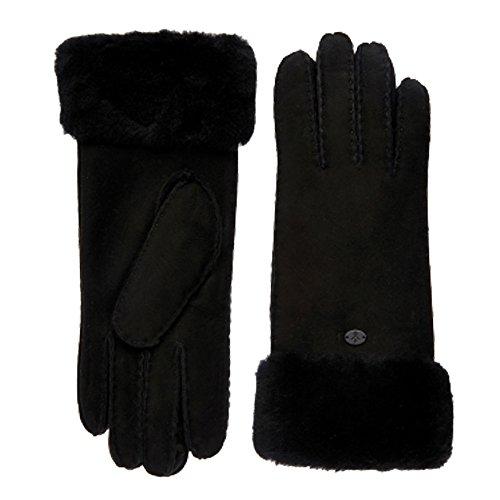 ナインへレパートリースケルトンエミュー emu シープスキングローブ Apollo Bay Gloves 手袋 W9405 ブラック(Black) M/L