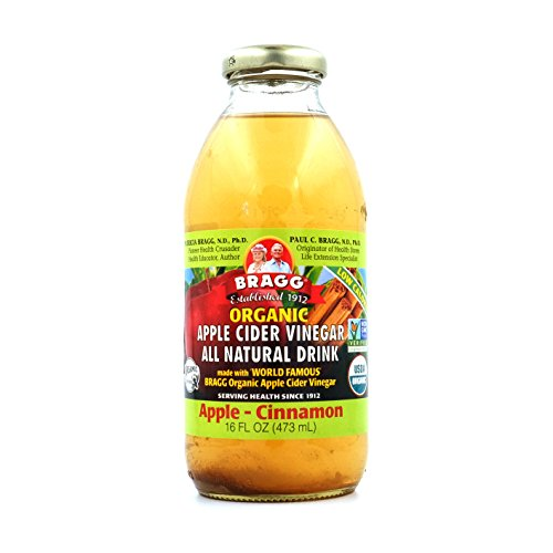 Apple Cider Drinks (Bragg Apple Cider Vinegar Drink, Apple & Cinnamon, 16-ounces (Pack of6))