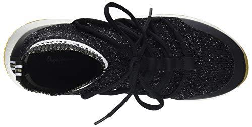 Jeans Noir Sock Koko Pepe Femme Baskets 999 Hautes black fd1qBxgTw