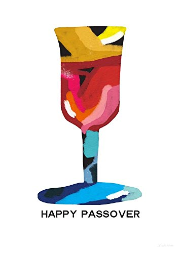 Passover Goblet by Linda Woods Art Print, 16 x 22 inches