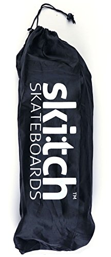 Skitch 22″ Skateboard Tote Bag – 22 Inch Mini Cruiser Board Drawstring Shoulder Strap Breathable Nylon Multi-Function Carry Bag, Also Used for Travel, Gym and Storage (Black) Review