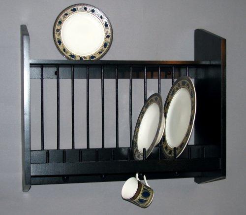 dish display wall rack - 8
