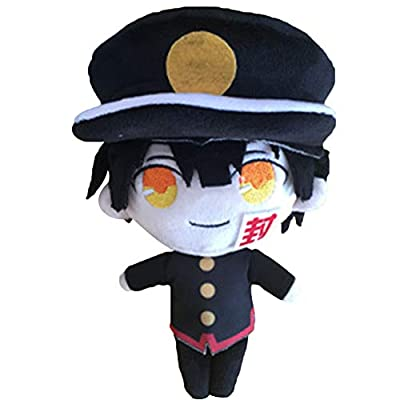 Chutoral Toilet-Bound Hanako-kun Plush Toy, Jibaku Shounen/Nene Yashiro Pillow Doll Plush Puppets Toy Character Plush(H02 22cm): Sports & Outdoors