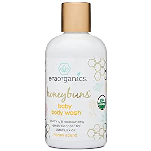 Organic Baby Wash 8oz. Sulfate Free USDA Certified Organic Moisturizing Baby Soap & Shampoo with Chamomile, Coconut Oil, Jojoba Oil. Cleanse, Nourish and Hydrate From Head to Toe with Each Wash