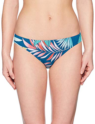 Swim Systems Women's Americana Moderate Coverage Bikini Bottom Swimsuit, Pacific Oasis, Large