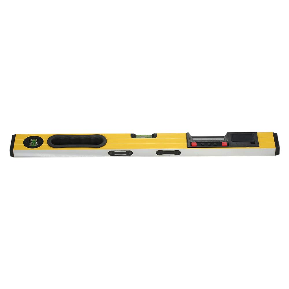 Walmeck 400mm Digital Measuring I-Beam Spirit Level Angle Gauge Finder Torpedo Level with Magnetic Base Backlight LCD Display