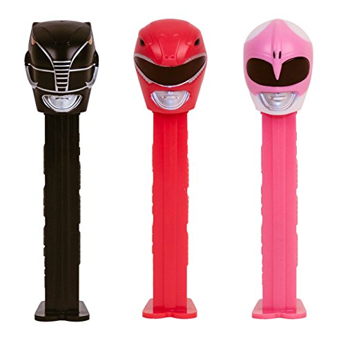 (PEZ Power Rangers Assorted Candy Dispensers, 0.87 Ounce (Pack of 12))