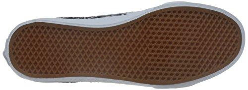Vans Unisex Sk8-Hi Slim gesteppte Denim Skate Schuhe-Kleid Blau (Quilted Denim) Kleid Blues / Zephyr