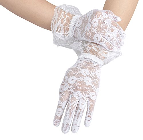 vintage white gloves - 8
