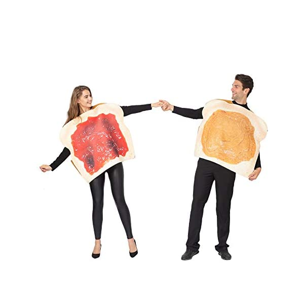 Halloween Butter and Jelly Couple Costume