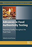 Advances in Food Authenticity Testing
