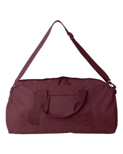 ZUZIFY Large Square Duffle Bag. IG0112 OS Maroon Review