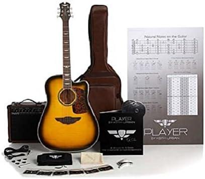 Keith Urban Deluxe PLAYER Guitarra acústica eléctrica brasileña ...