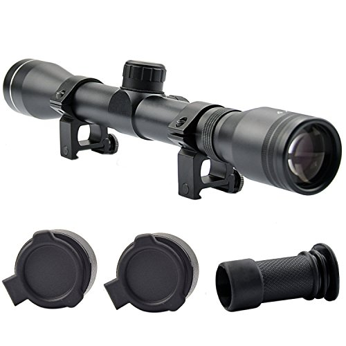 OTW Rifle Scope 4x32 High Precise Sniper Optics Crosshair Riflescope Gun Scopes with Tera Cloth for Sports Performing Hiking Hunting
