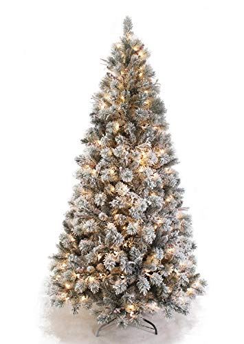 AMERIQUE 691322305692 8 FEET Premium Artificial Full Body Shape Christmas  Tree with Metal Stand, Heavily - Amazon.com: AMERIQUE 691322305692 8 FEET Premium Artificial Full