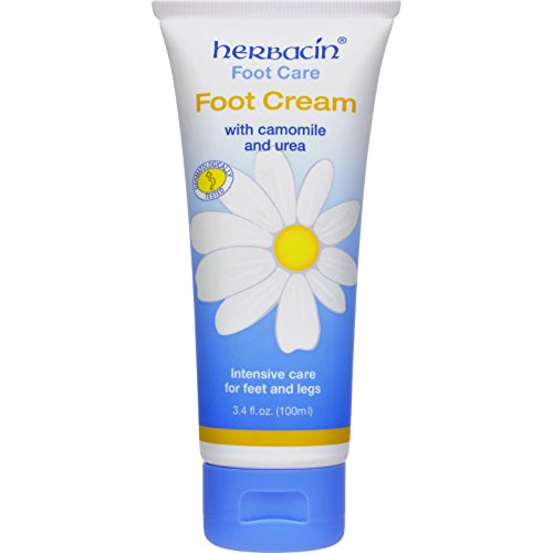 Herbacin Kamille Foot Cream - with Camomile and Urea - 3.4 fl oz
