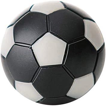 Robertson Bola futbolin Negra Gris 24gr 35mm 1 unid: Amazon.es: Deportes y aire libre