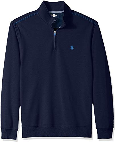 IZOD Men's Advantage Performance Fleece Long Sleeve 1/4 Zip Soft Pullover, New Peacoat XX-Large