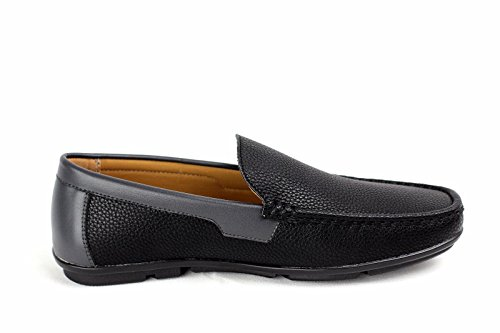 diario Barco Deslizarse Zapatos Deck CABALLEROS On Negro de F41qwnYTd