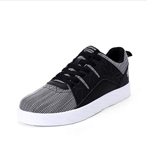 Exing Damenschuhe Neue Liebhaber Mode Deck Schuhe/Wilde Atmungsaktive Low-Top Sneaker/Unisex Lace-up Flache Schuhe / B
