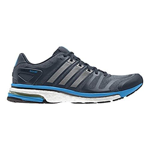 Adidas Menns M17460 Adistar Boost Sko Blå / Grå