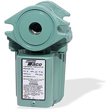 Taco 009-F5 Cast Iron High Velocity Cartridge Circulator Pump