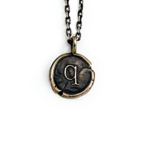Pennyroyal-Studio-Bronze-Initial-Pendant-Necklace-Letter-Q