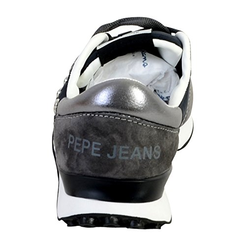 Noir Femme Black Studs Pepe 999 Bimba Jeans Sneakers Basses wfaPqF