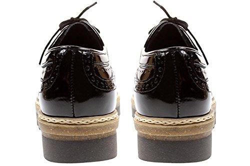 Post Xchange Gize 10 - Damen Schuhe Schnürschuhe Halbschuhe - 2220-black