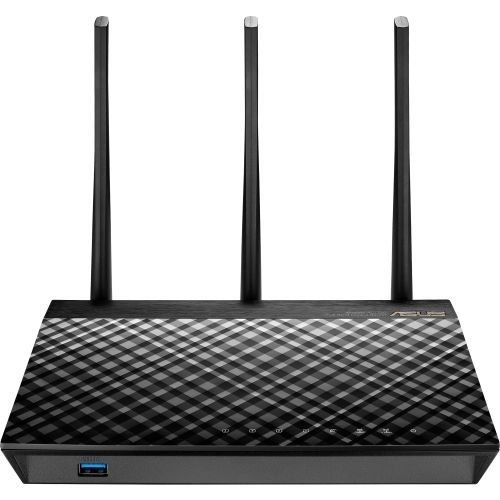 Asus Rt-ac66u B1 Ieee 802.11ac Ethernet Wireless Router - 2.40 Ghz Ism Band - 5 Ghz Unii Band(3 X E]()