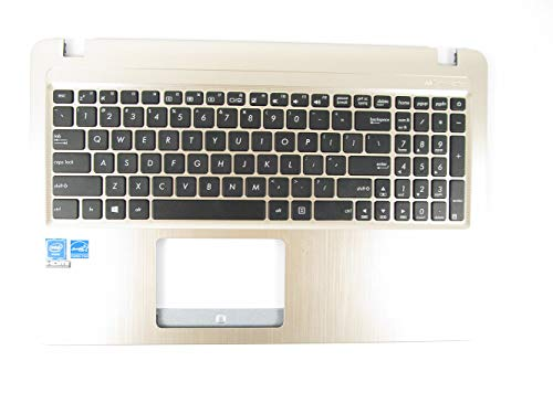 Top Palmrest Cover (KinFor Brand Keyboard for ASUS X540 X540S X540SA TOP Cover PALMREST Keyboard + Clear Protector Cover)