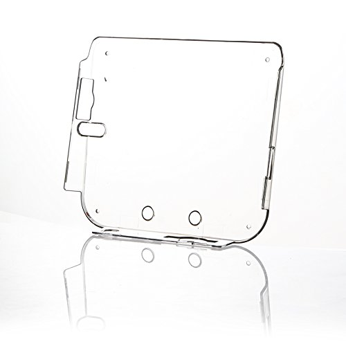 Alloet New Transparent Plastic Hard Protective Case Shell Skin for Nintendo 2DS with ()