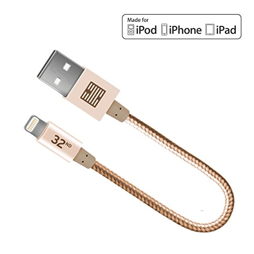 Certified lightning braided charging iPhone
