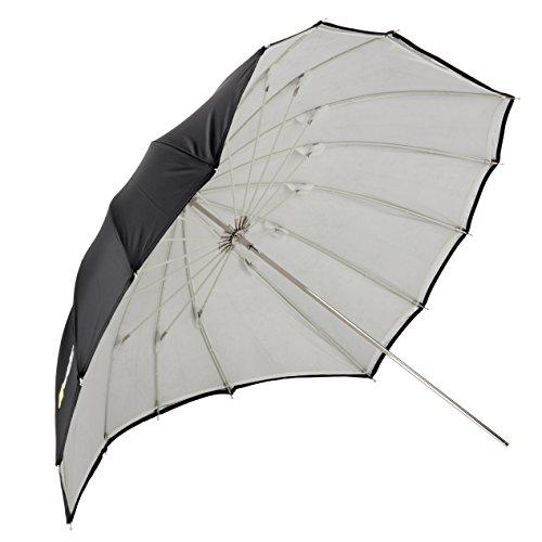 "Angler ParaSail Parabolic Umbrella (White with Removable Black/Silver, 45"""")"""