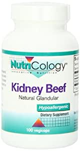 Nutricology Kidney Beef Capsules, 100 Count